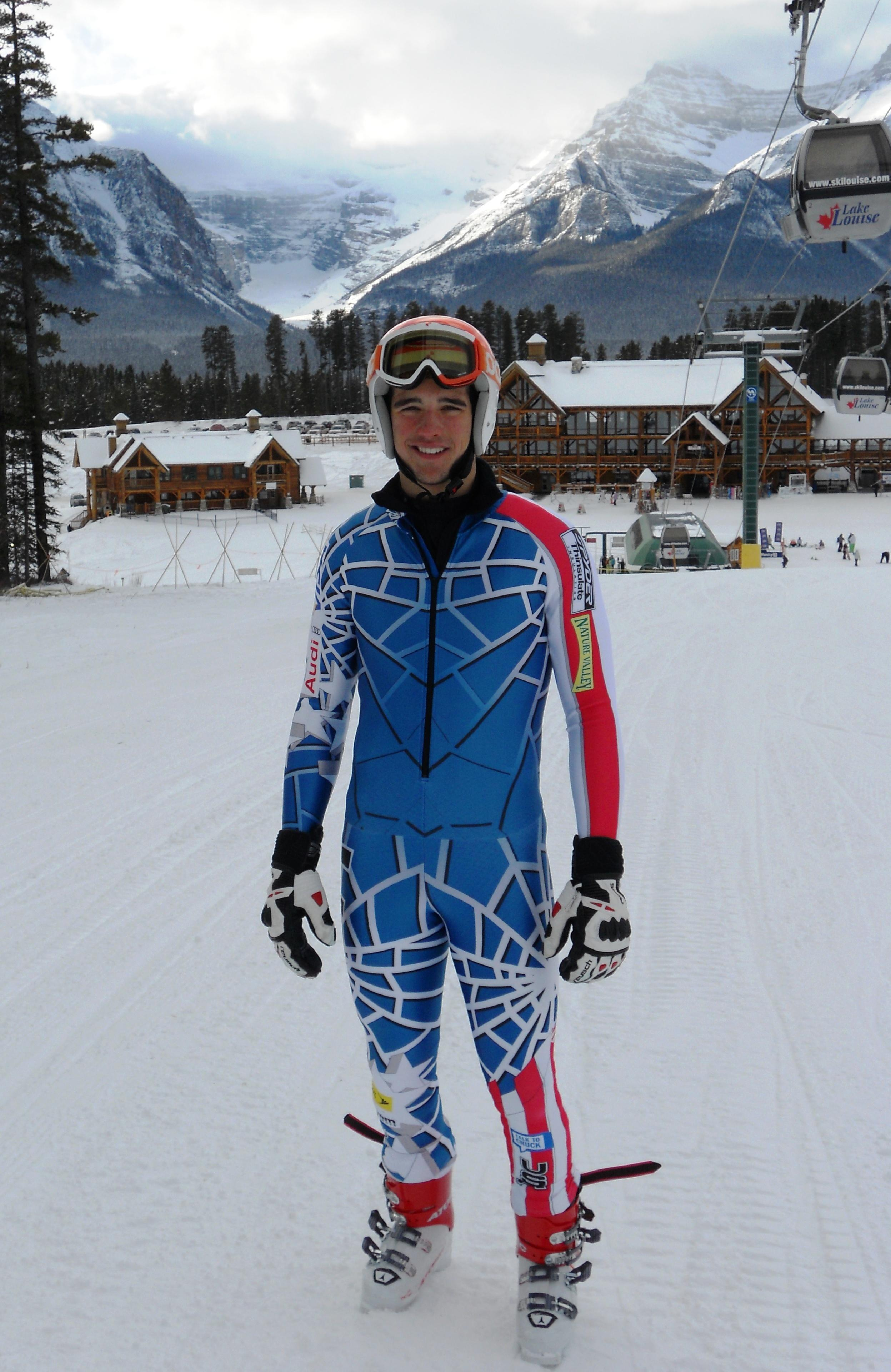 Scott at Lake Louise